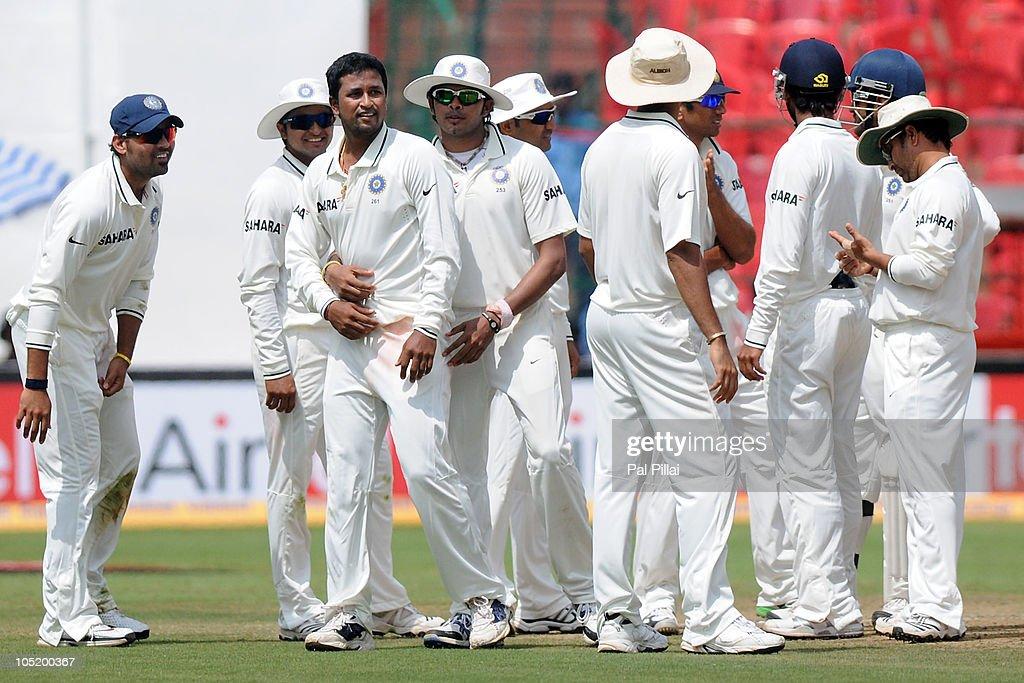 India v Australia - Second Test: Day Four