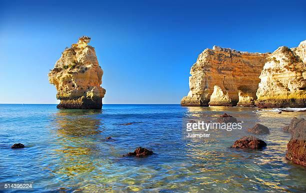 Praia da Marinha beach