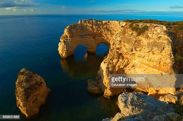 Praia da Marinha Lagoa Marinha Beach Algarve Portugal Europe
