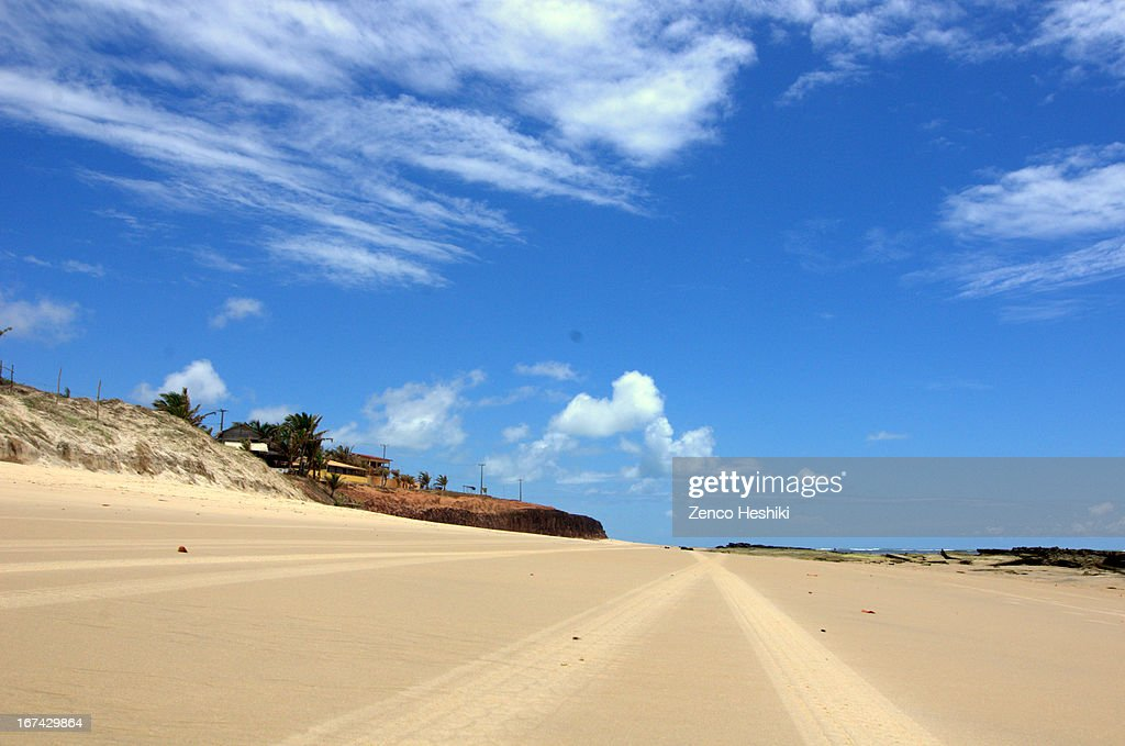 Praia da Minas-RN : Stock Photo