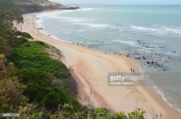 Praia da Pipa. Lovers Beach