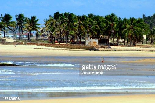 Praia das Minas : Foto de stock