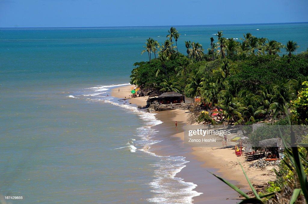Praia de Cabo Branco : Foto de stock