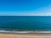 Praia de Iracema Beach, aerial view