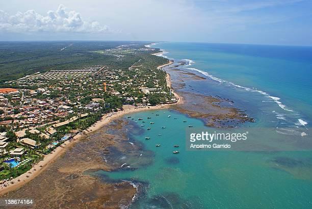 Praia do Forte - aerial photo