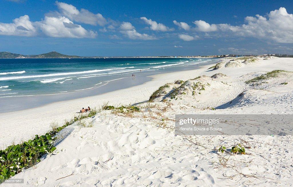 Praia do Forte - Cabo Frio - Brazil : Stock Photo