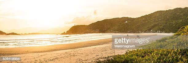 Praia dos Naufragados, south of the island