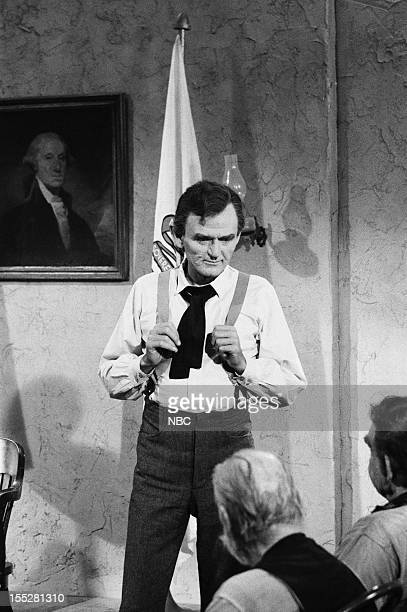 LINCOLN 'Prairie Lawyer' Episode 3 Pictured Hal Holbrook as Abraham Lincoln