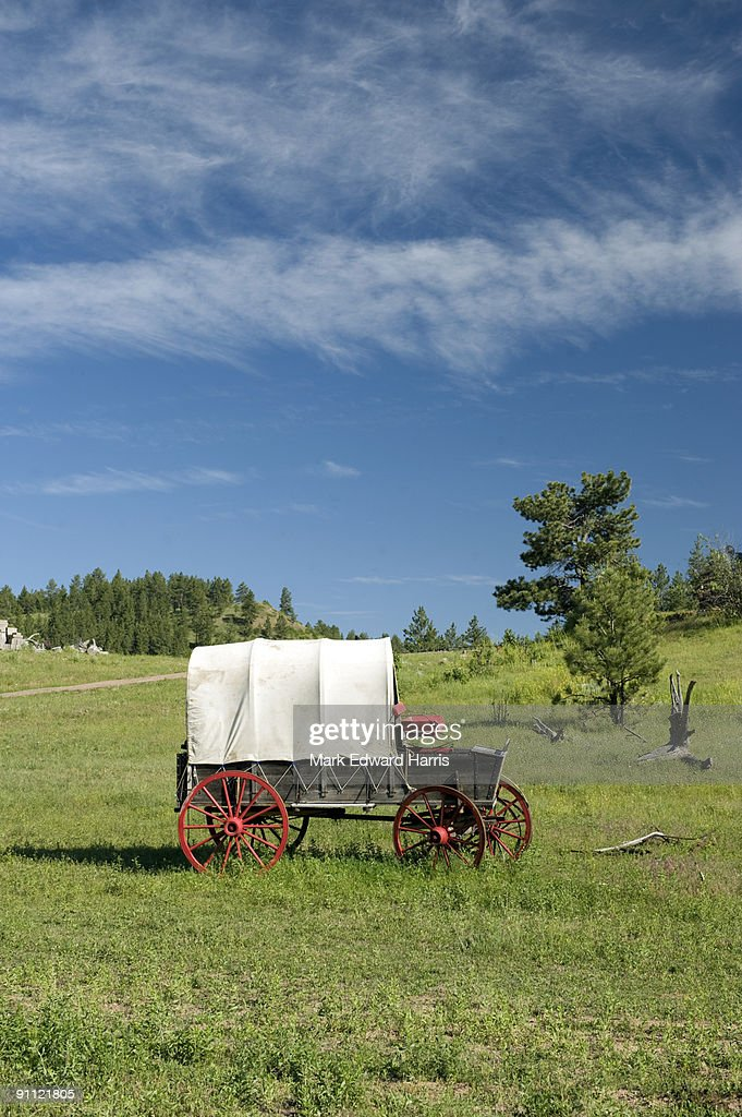 Prairie Schooner  : Stock Photo