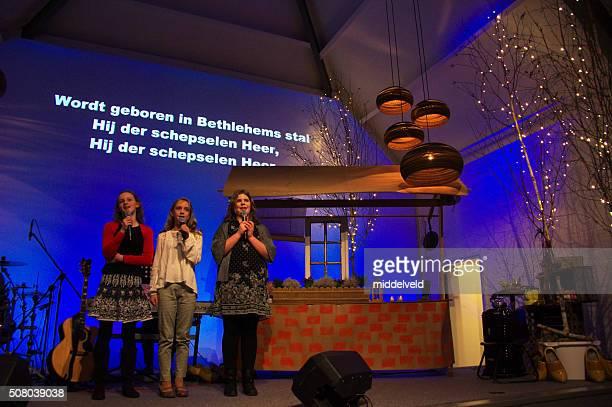 Praise concert in the Church.