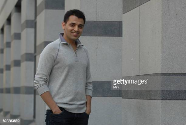 Pranav Mistry MIT student and Innovator of Sixth Sense poses during an interview with Mint