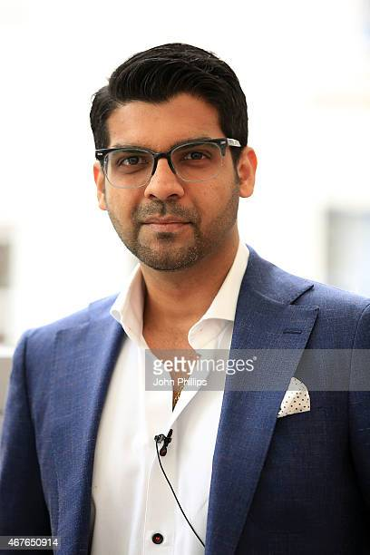 Pranav Yadav CEO NeuroInsight US Inc during Advertising Week Europe Piccadilly on March 23 2015 in London England