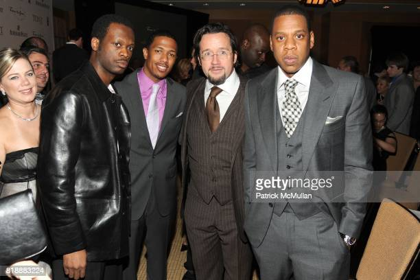 Pras Nick Cannon FrancoisHenry Bennahmias and JayZ attend AUDEMARS PIGUET 'Time To Give' Celebrity Watch Auction to Benefit Broadway Cares / Equity...