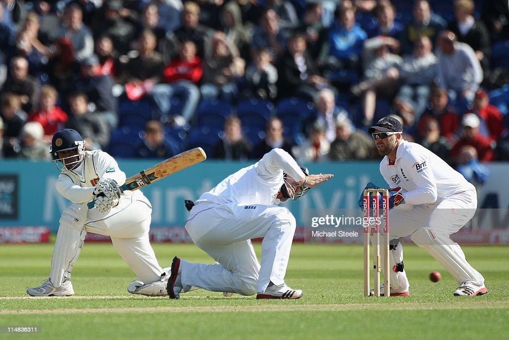 England v Sri Lanka: 1st npower Test - Day Two