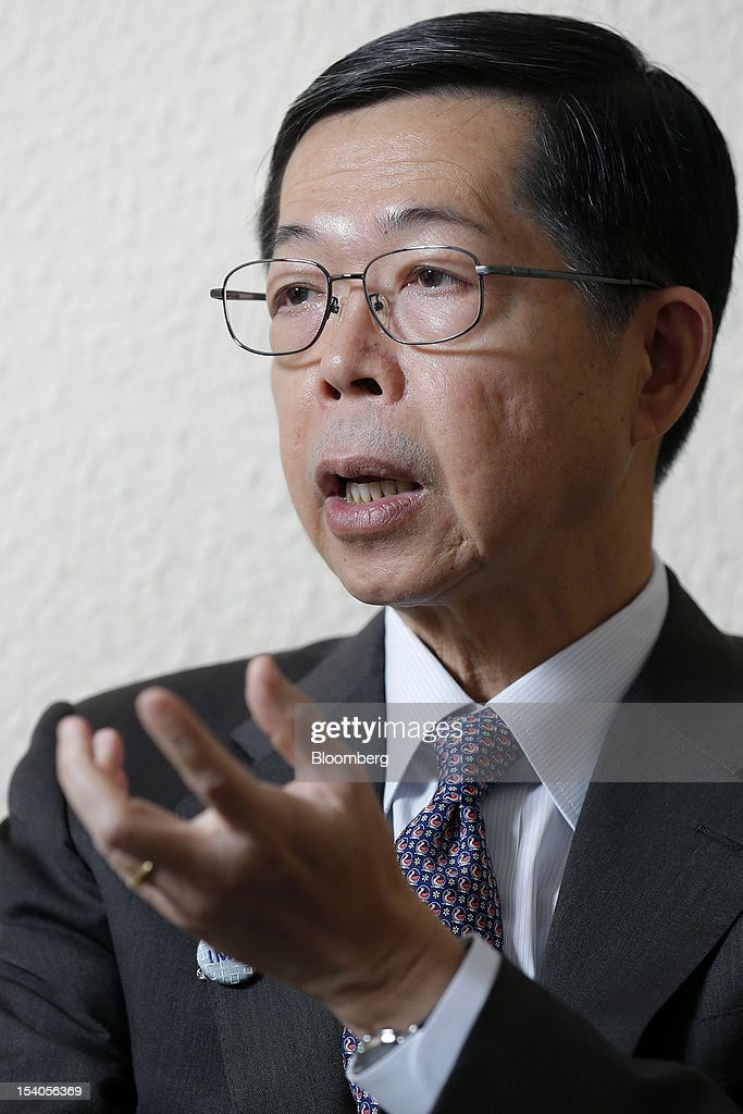 Prasarn Trairatvorakul, governor of the Bank of Thailand, speaks during an interview at the Annual Meetings of the International Monetary Fund (IMF) and the World Bank Group in Tokyo, Japan, on Saturday, Oct. 13, 2012. Thailand doesn't need an interest-rate cut as credit growth is accelerating and domestic demand is countering a slowdown in exports, central bank Prasarn said. Photographer: Kiyoshi Ota/Bloomberg via Getty Images