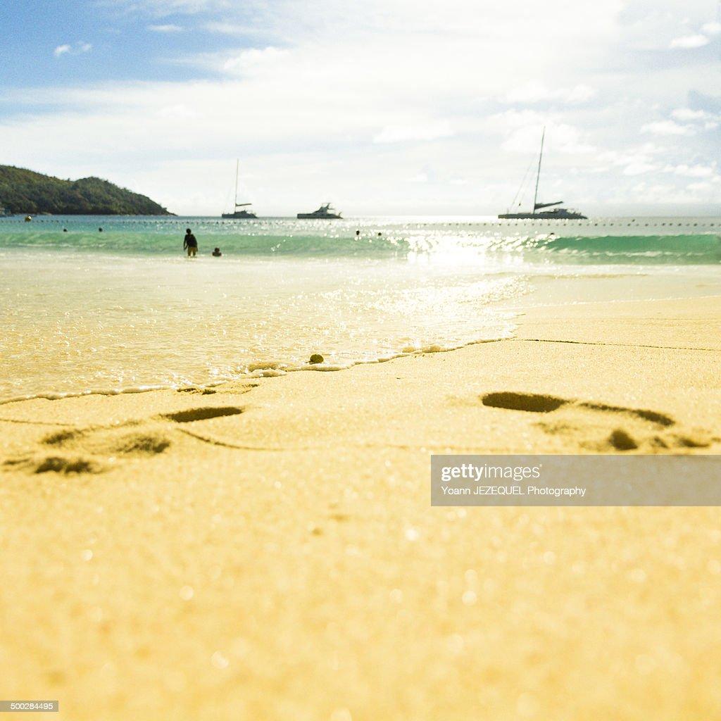 Praslin beach, Seychelles : Photo