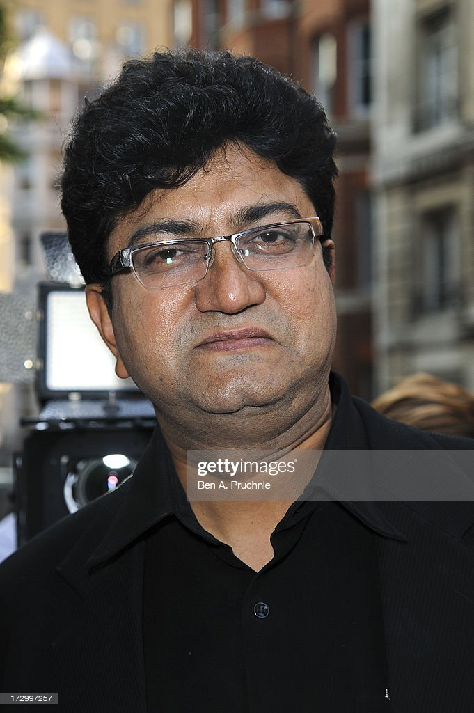 Prasoon Joshi attends the gala screening of 'Bhaag Milkha Bhaag' at The Mayfair Hotel on July 5, 2013 in London, England.