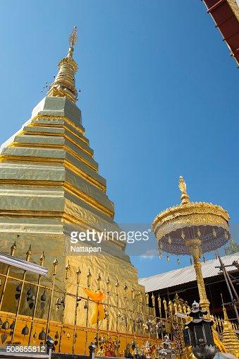 pratadchohea temple, thailand : Stock Photo