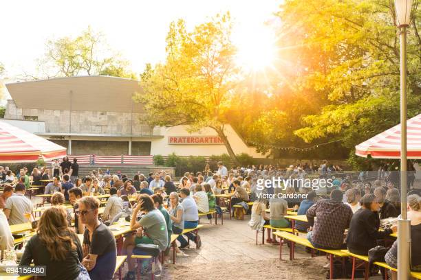 Pratergarten, the oldest biergarten in Berlin