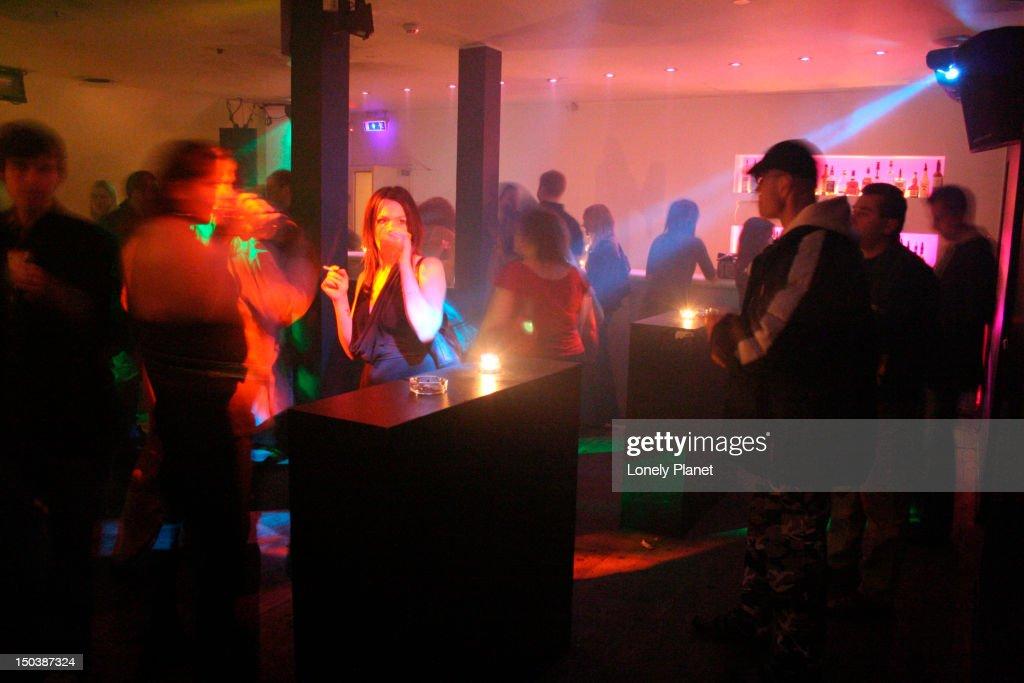 Pravda nightclub.