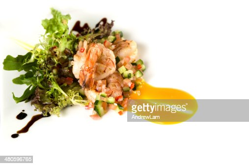 Prawn salad : Stock Photo