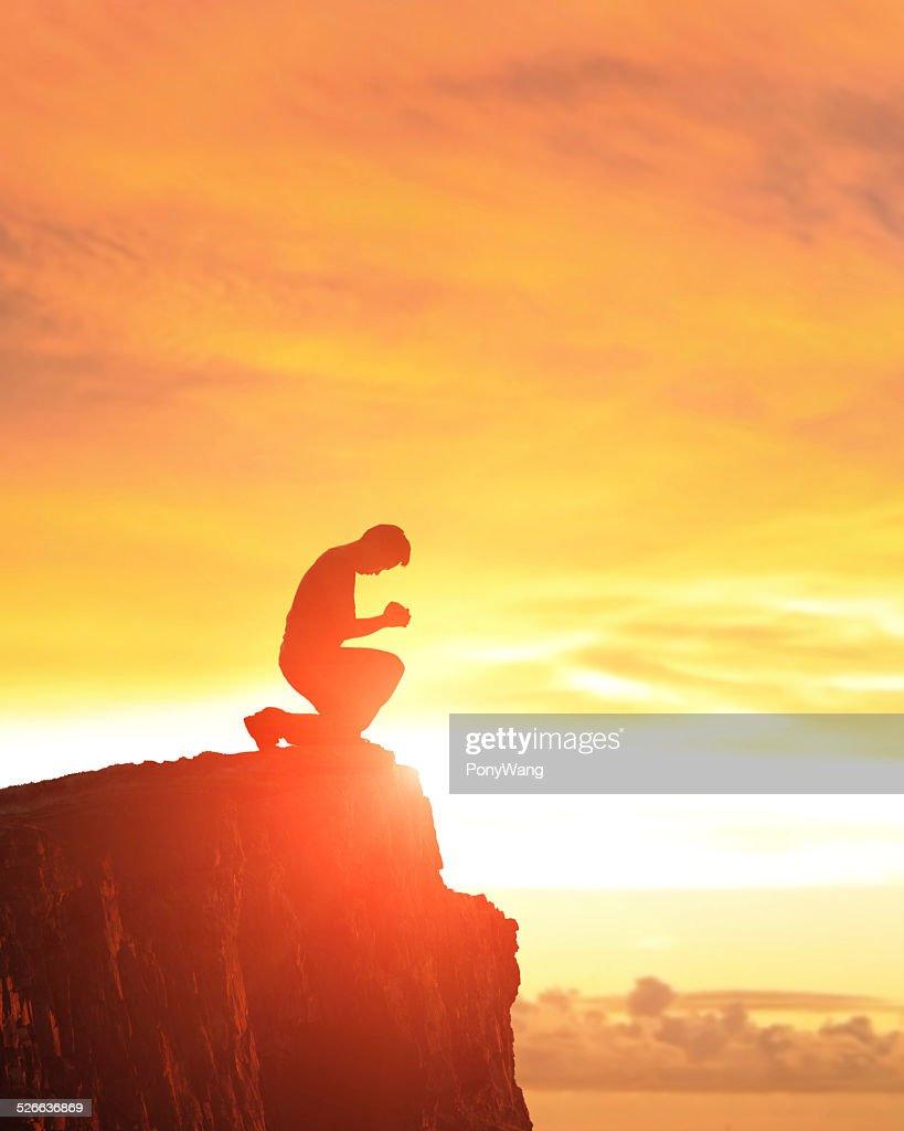Pray and worship : Stock Photo