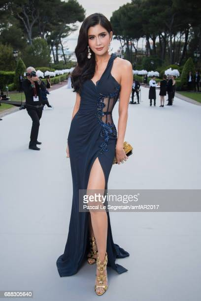 Praya Lundberg attends the amfAR Gala Cannes 2017 at Hotel du CapEdenRoc on May 25 2017 in Cap d'Antibes France