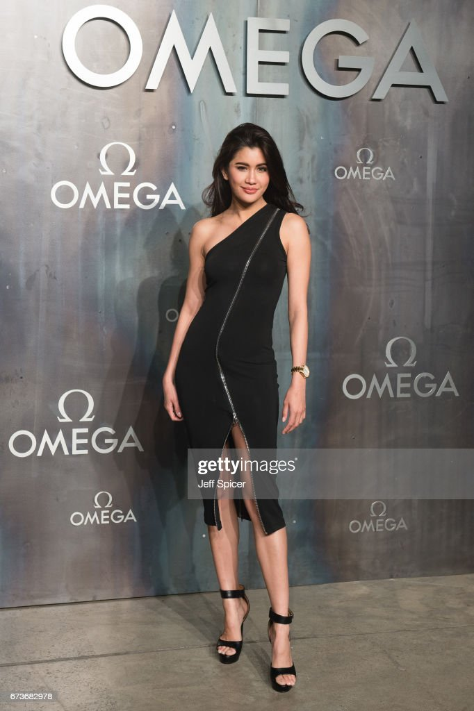Praya Lundberg attends the Lost In Space event to celebrate the 60th anniversary of the OMEGA Speedmaster, which has been worn by every piloted NASA mission since 1965 at Tate Modern on April 26, 2017 in London, United Kingdom.