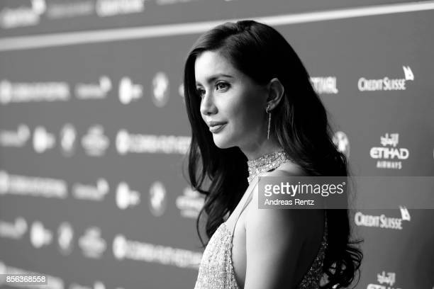 Praya Lundberg attends the 'The Wife' premiere at the 13th Zurich Film Festival on October 1 2017 in Zurich Switzerland The Zurich Film Festival 2017...