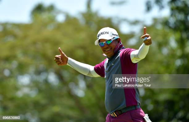 Prayad Marksaeng of Thailand during round three of the Queen's Cup at Santiburi Samui Country Club on June 17 2017 in Bangkok Thailand