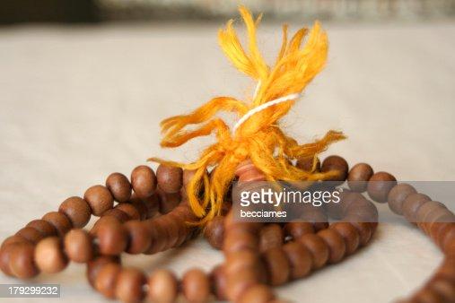 prayer beads : Stock Photo