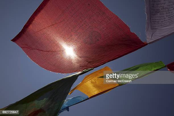 Prayer flags, Kathmandu, Nepal