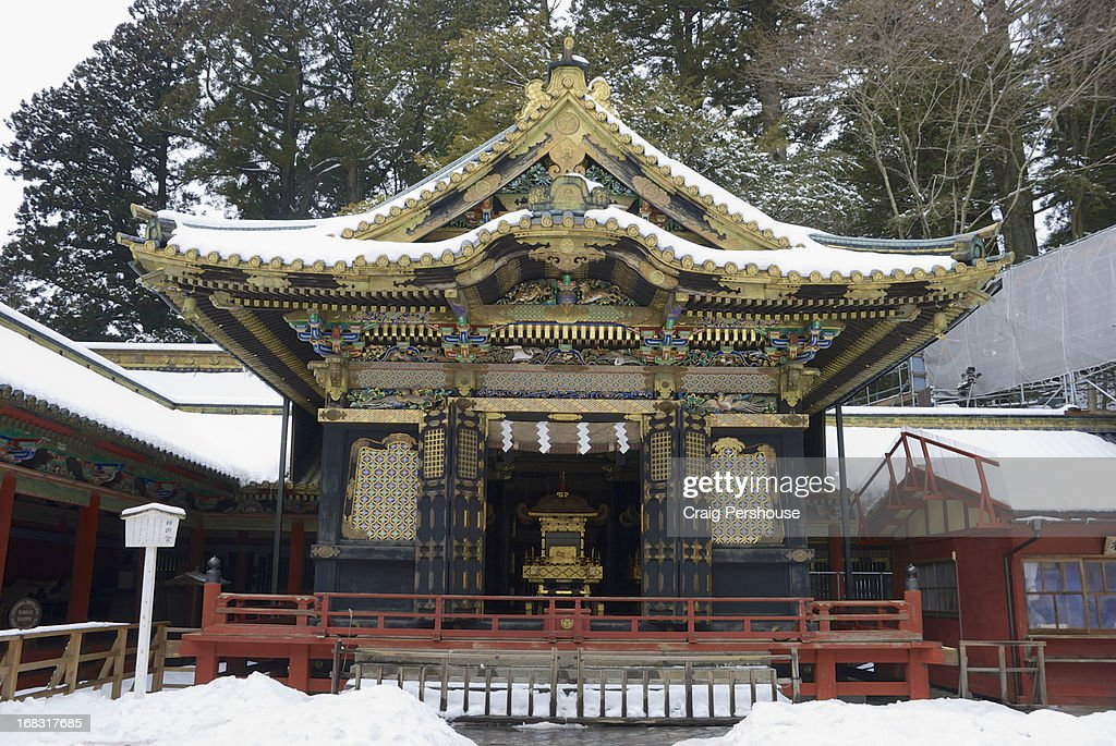Prayer hall at Tosho-gu Shrine