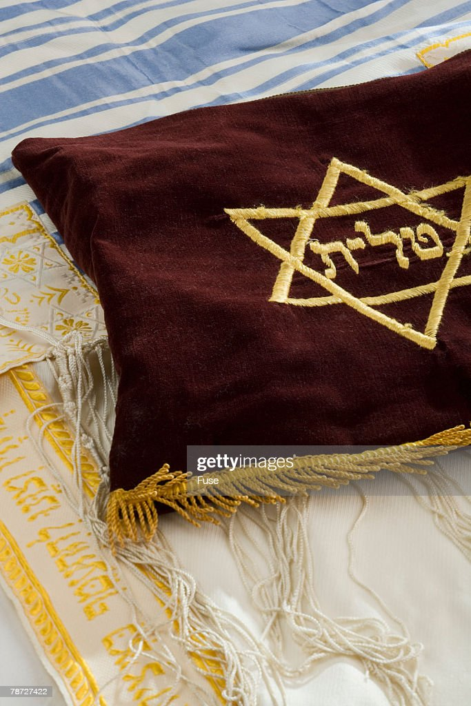 Prayer Shawl and Velvet Tallis Bag