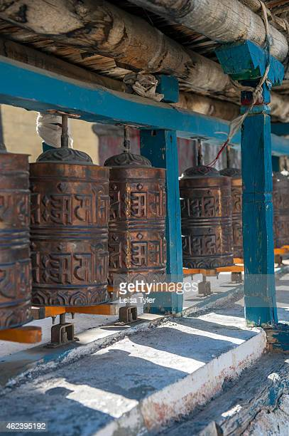 Prayer wheels near Muktinath on the Annapurna Circuit It's considered one of the most diverse trekking trails in the world the Annapurna circuit...