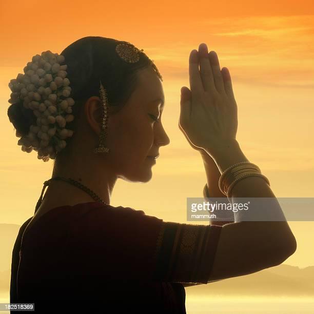 praying at dawn