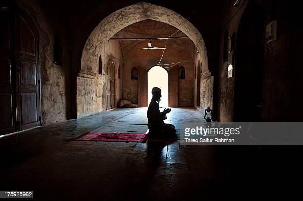 Praying Imam