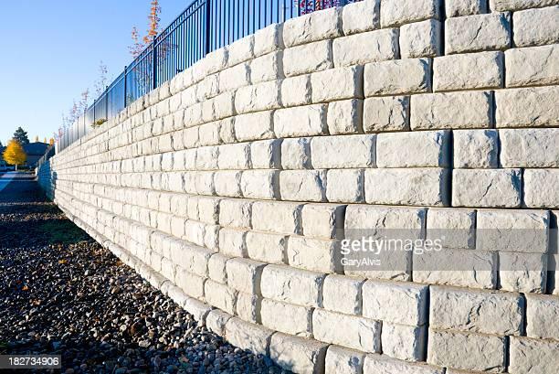 Precast mur de ciment block