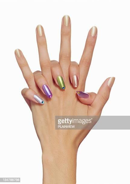 Wertvolle Fingernagel