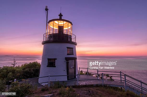 Pre-Dawn Light at Owl's Head, Maine