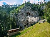 Predjama Castle built in the cave, Slovenia