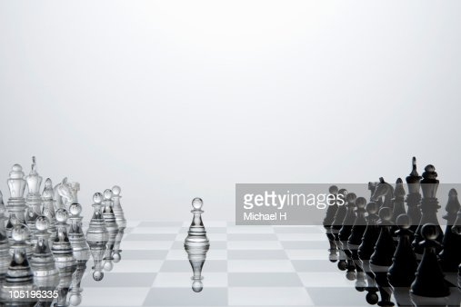 Preemptive attack of white chess