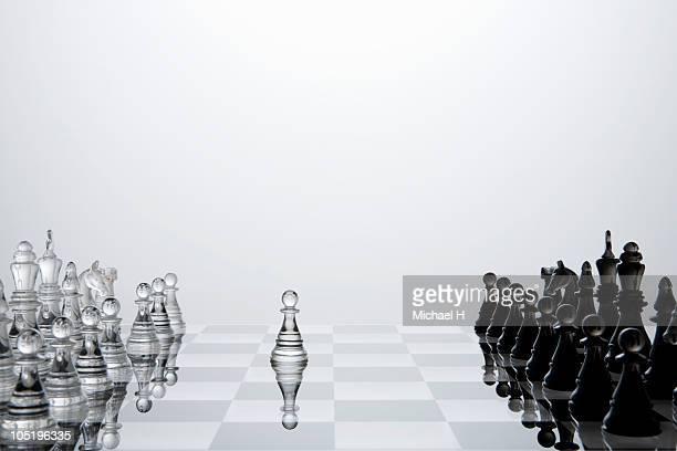 Preemptive attack of white chess