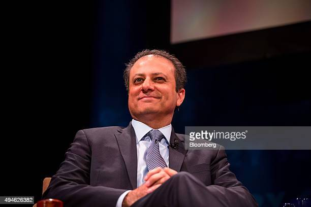 Preet Bharara US attorney for the Southern District of New York attends a postscreening discussion at the 10th Annual FOLCS Film Festival in New York...