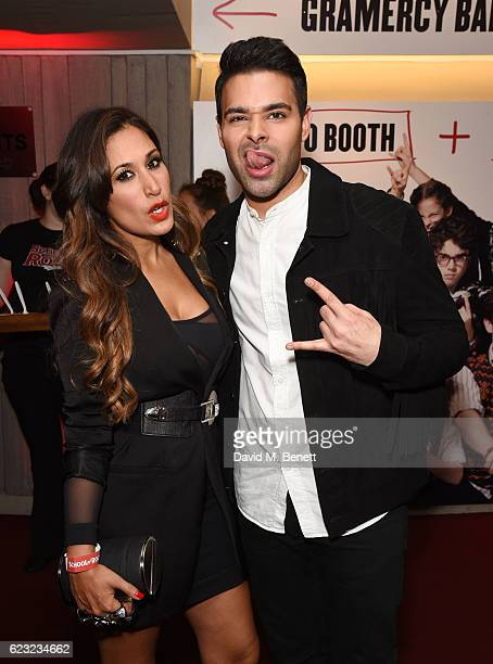 Preeya Kalidas and Jamal Andreas attend the press night performance of 'School Of Rock The Musical' at The New London Theatre Drury Lane on November...