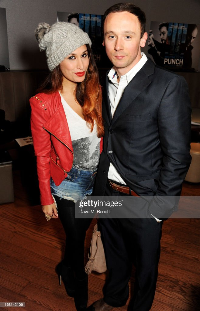 Preeya Kalidas (L) and Jason Maza attend the UK Premiere of 'Welcome To The Punch' at the Vue West End on March 5, 2013 in London, England.
