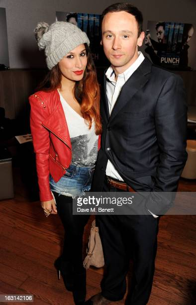 Preeya Kalidas and Jason Maza attend the UK Premiere of 'Welcome To The Punch' at the Vue West End on March 5 2013 in London England