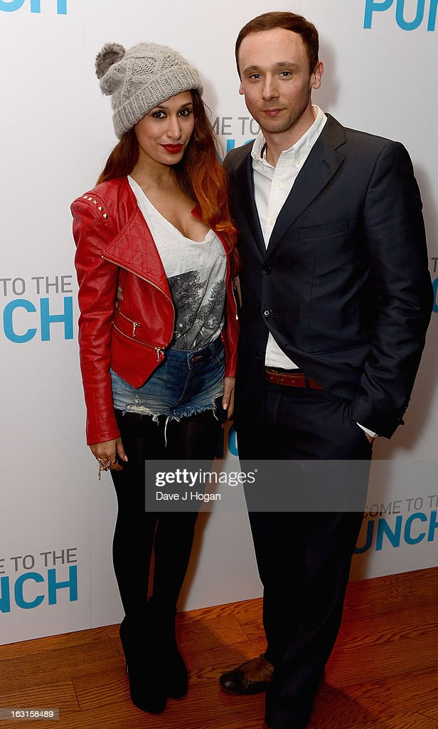 Preeya Kalidas and Jason Maza attend the 'Welcome To The Punch' UK Premiere at the Vue West End on March 5, 2013 in London, England.