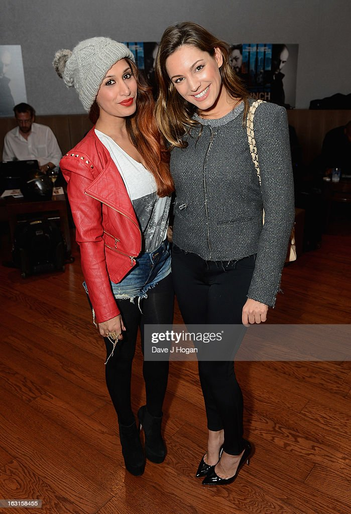 Preeya Kalidas and Kelly Brook attend the 'Welcome To The Punch' UK Premiere at the Vue West End on March 5, 2013 in London, England.