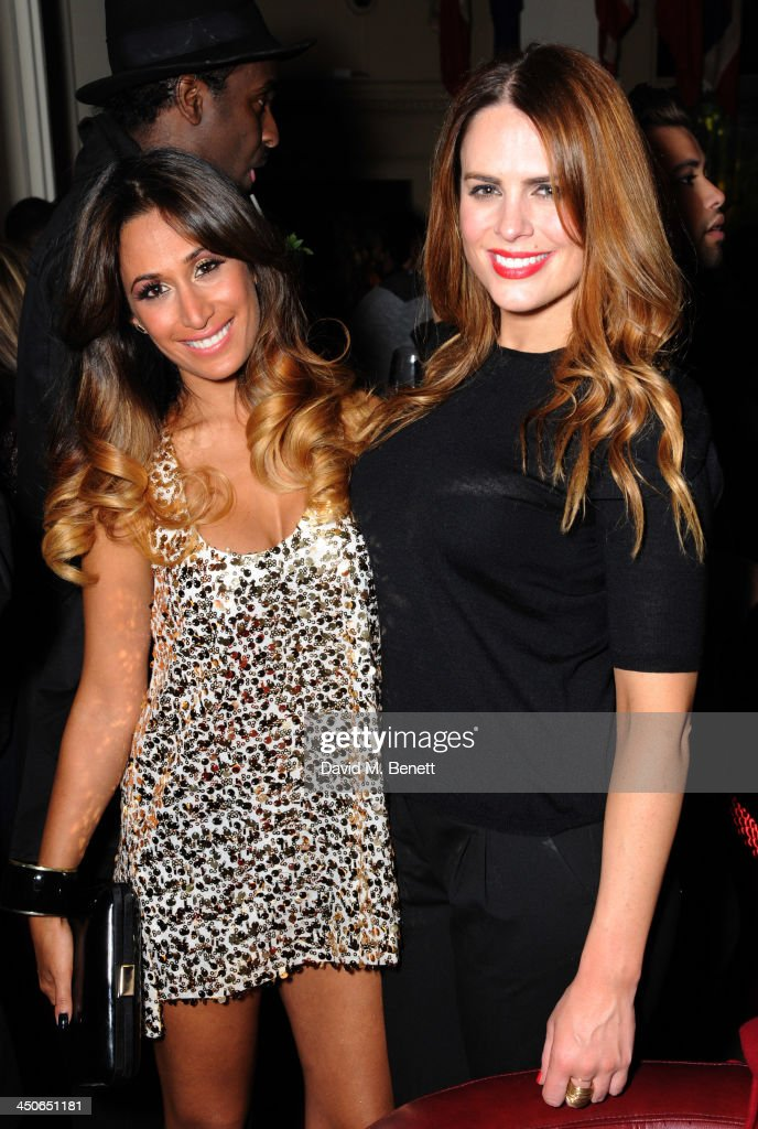 Preeya Kalidas and Susie Amy attends the Steam And Rye launch party on November 19, 2013 in London, United Kingdom.